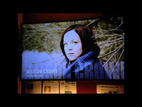 Famous Blue Raincoat - Allison Crowe - Teatro del Sale, Florence - live