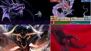 Fire Emblem All Final Bosses (1990-2016)