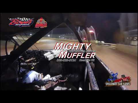 #T19 Tommy Gilbert - Street Stock - 11-17-17 Boyd's Speedway - In Car Camera