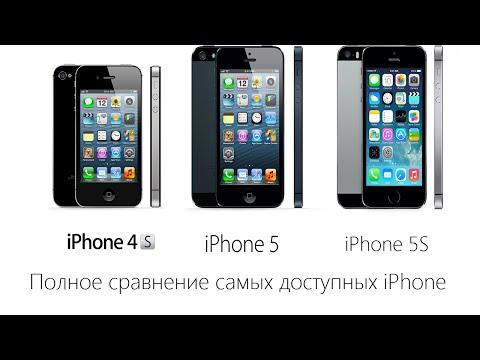Сравнение iPhone 4S vs iPhone 5 vs iPhone 5S. Какой iPhone купить в 2017?