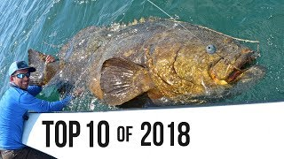 Top 10 Best Fishing Moments from 2018