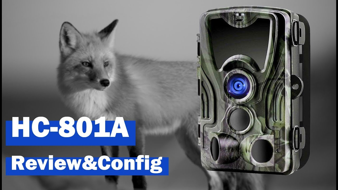 Download HC-801A trail camera review and configuration