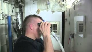 How To Shave Your Head In Space | Video