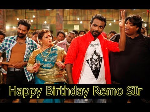 Happy Birthday Remo Sir 2018||Remo d'souza choreographed songs