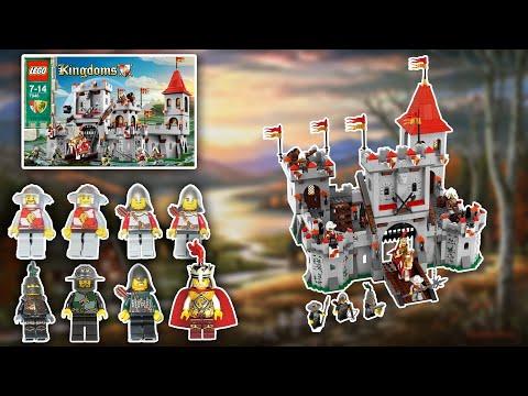 Обзор Набора Лего Королевство 7946 Королевский Замок / Lego Kingdoms 7946 King's Castle