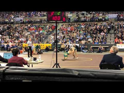FULL VIDEO: Mitchell Polito vs. Jo Manchio in 2018 NJSIAA New Jersey State Semi Finals