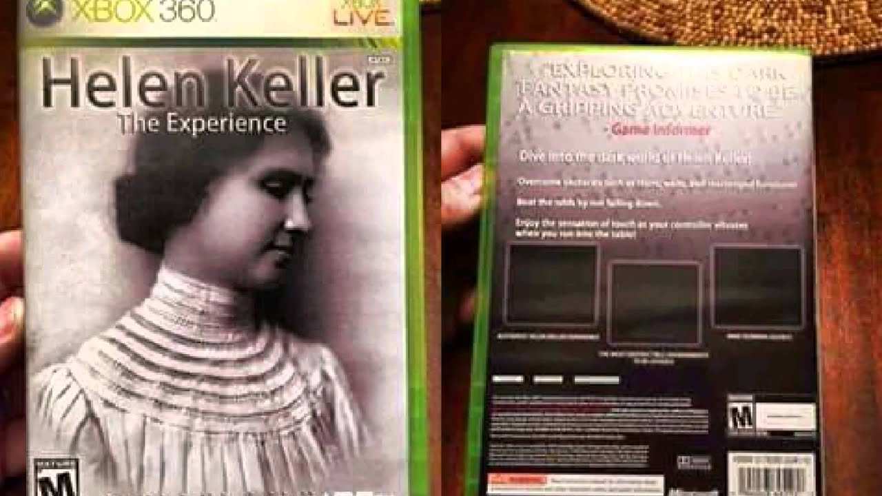 Helen Keller: The Experience XBOX 360 Gameplay - YouTube