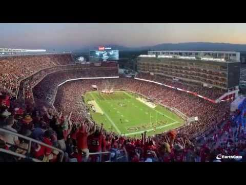 Official San Francisco 49ers Levi's Stadium Time-Lapse