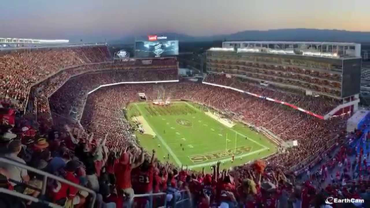 Levis Stadium Capacity >> Official San Francisco 49ers Levi S Stadium Time Lapse Youtube