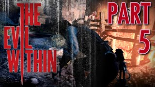 The Evil Within Walkthrough Part 5, in 1080p HD: Igniting Haystacks and More Stealth (Let