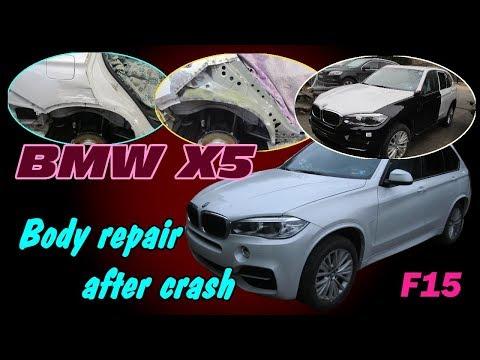 BMW X5. F15. Body repair. Ремонт кузова.
