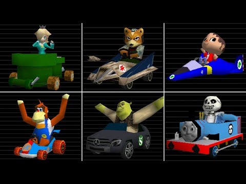 Ermii Kart Ds Legacy Edition - All Characters Costumes & Karts