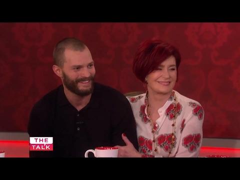 Jamie Dornan surprises Sharon Osbourne on The Talk