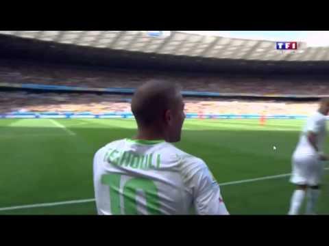 But de L'Algérie Face à La Belgique (Sofiane Feghouli sur Pénalty) HD 720p