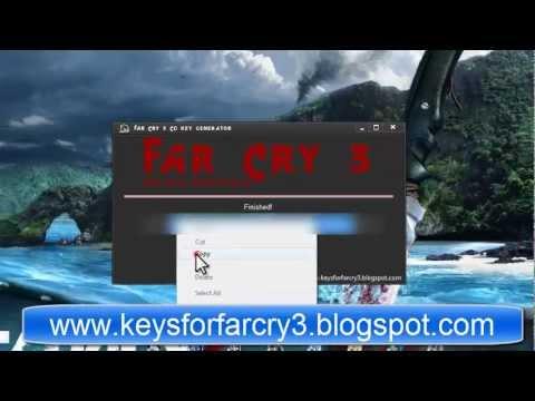 Far Cry 3 CD Key Generator [Working + Proof]