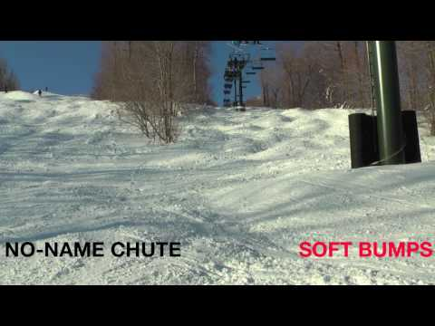 Bromley Mountain, Vermont - No Name Chute Soft Bumps