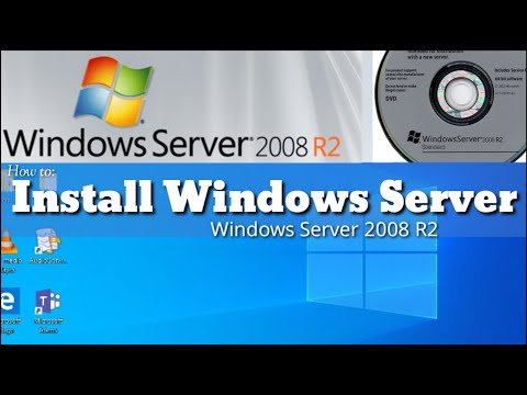 How To: Install Windows Server 2008 R2
