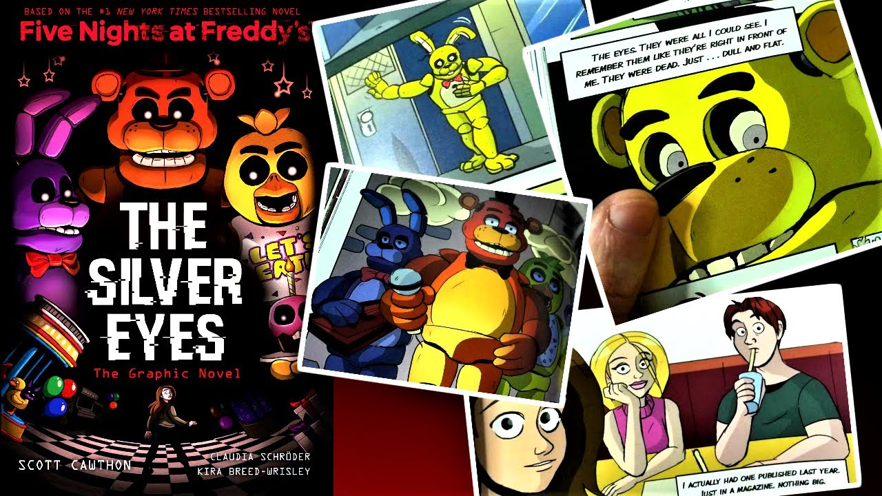 Fnaf Comics En Español a look at the fnaf 2020 silver eyes *graphic novel*