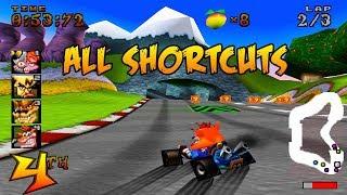 Semua Jalan Pintas di Game Crash Team Racing PS1