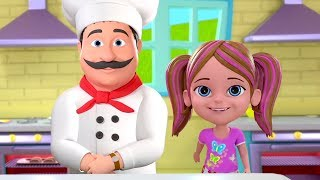 Pat A Cake | Kindergarten Nursery Rhymes for Kids | Baby Songs & Cartoons by Little Treehouse