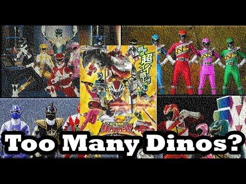 Kishiryu Sentai Ryuusouger | Too Many Dino Sentai?