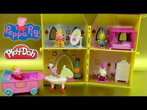 Tour Secrète de Princesse Peppa Pig Pâte à modeler play doh Secret tower