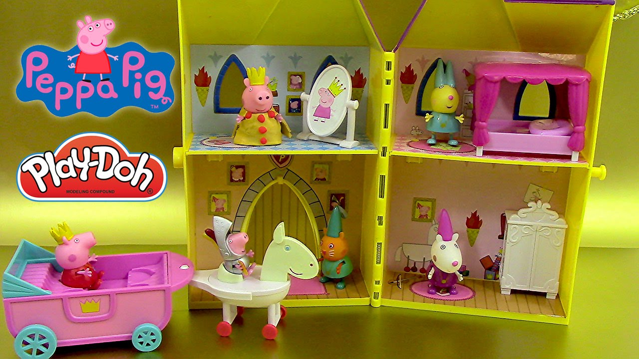 tour secr te de princesse peppa pig p te modeler play. Black Bedroom Furniture Sets. Home Design Ideas