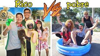 RICO VS POBRE #1 / Família Rica VS Família Pobre