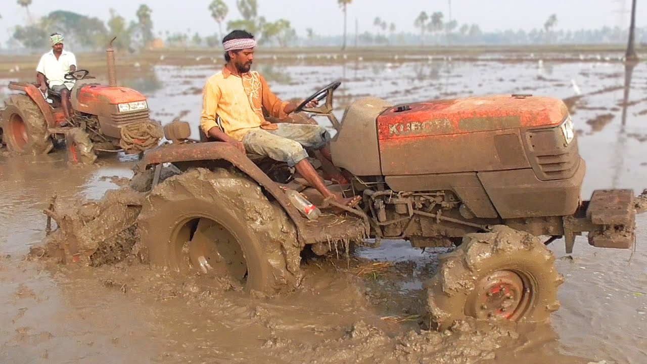 Kubota Tractors Double Riders | Tractor Videos | SWAMI Tractors
