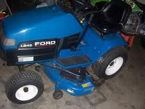 Oldschooldirtbiker Moto Mower Vlog Ford Ls45