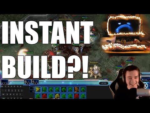 STARCRAFT 2 INSTANT BUILD?! | THE CPU KILLER
