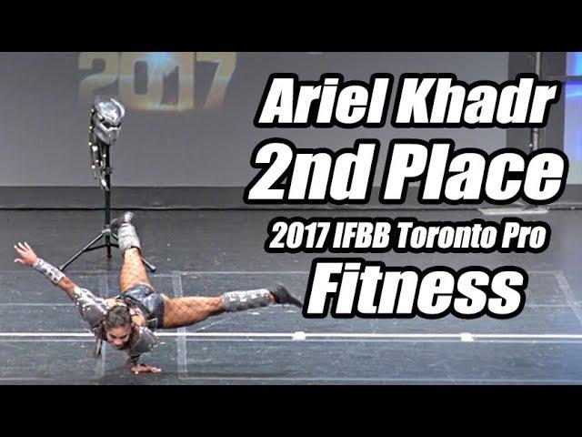 2017 IFBB Toronto Pro: Fitness, Ariel Khadr 2nd Place