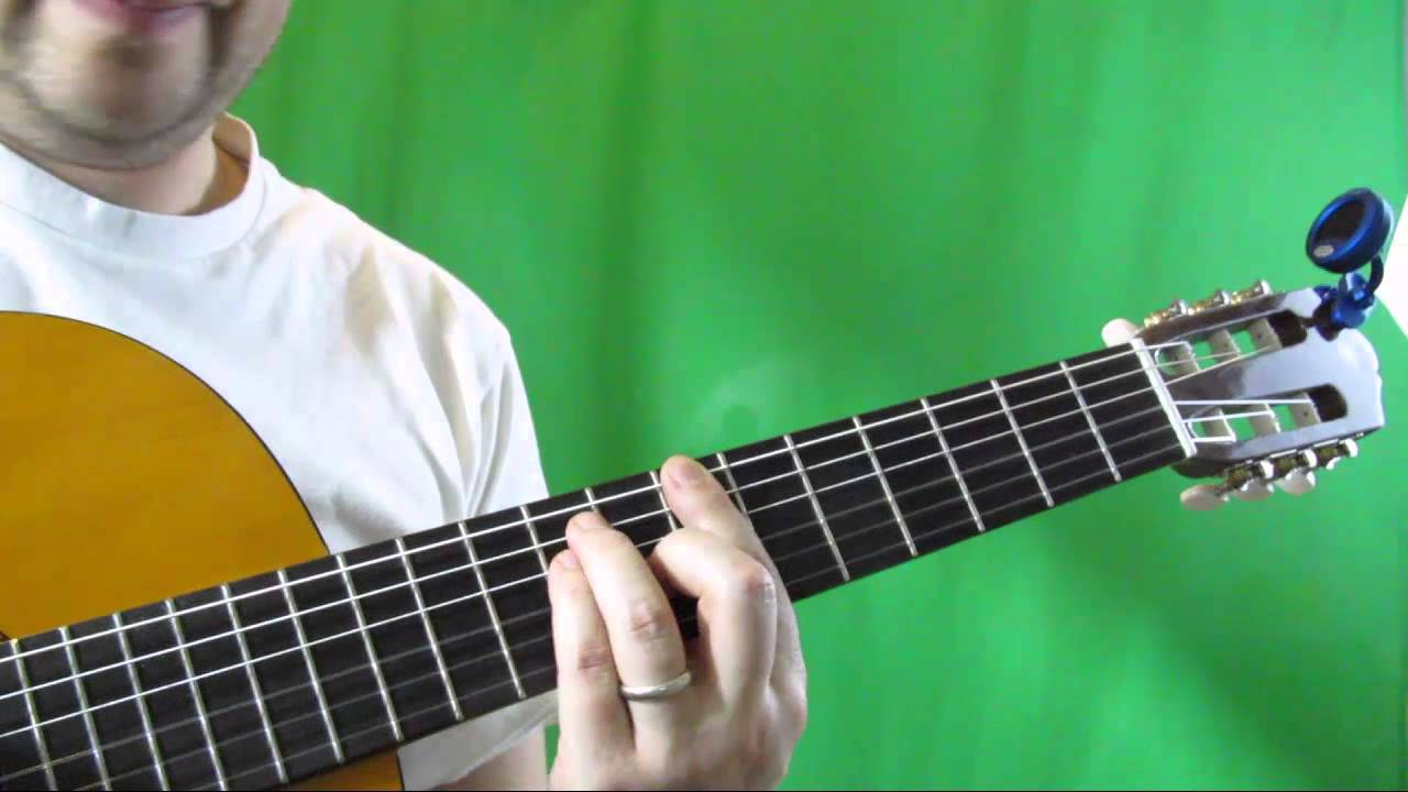 How To Play The B Guitar Chord B Major Chord Guitar Tutorial Youtube