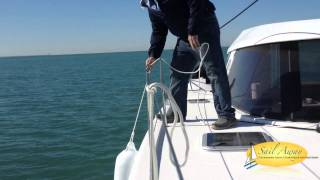 NAUTITECH OPEN 40 PERSONAL INSPECTION SEA TRIAL WITH SAIL AWAY CATAMARANS
