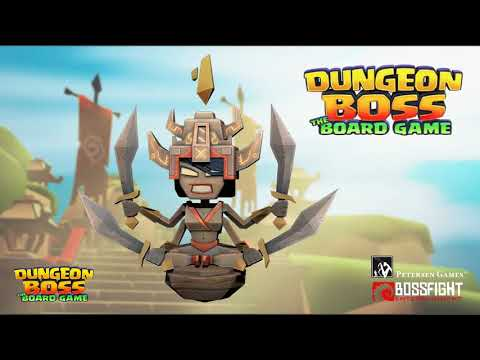 What's in the Boss Pledge Level of Dungeon Boss: The Board Game?