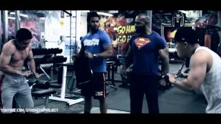 Biceps and Triceps Workout with CT Fletcher-