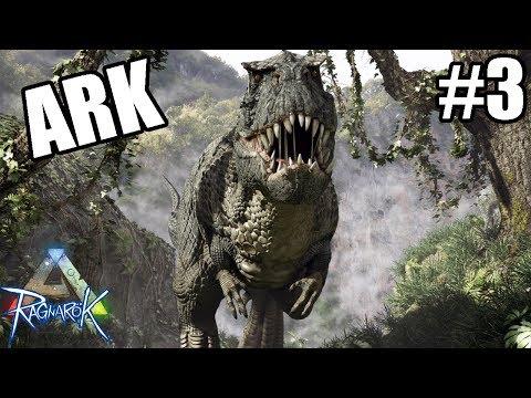T-Rex Cỗ Xe Tăng Hạng Nặng Thời Tiền Sử - ARK Ragnarock #3