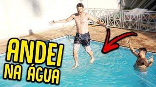 COMO ANDAR SOBRE A ÁGUA !! ( EU CONSEGUI ?? ) [ REZENDE EVIL ] thumbnail