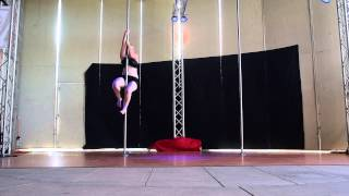 Heather S. Intermediate - Epic Pole Dance Competition