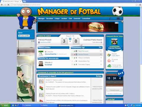 manager de fotbal