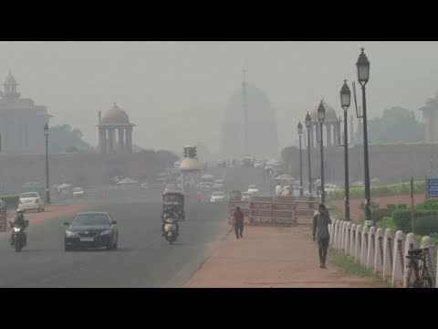 New Delhi air pollution 10 times over safe limit