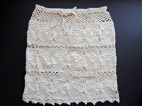 Crochet Falda Daniela  YouTube