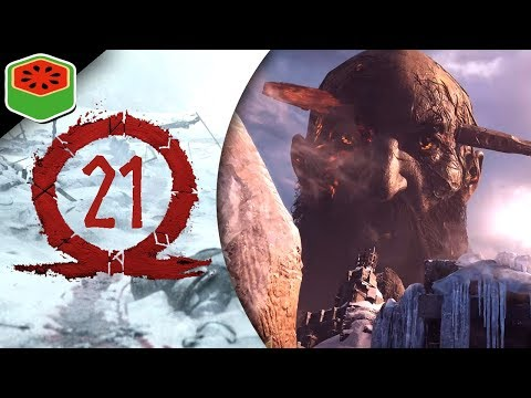 PART 21 - A GIANT CLASH | God of War Let's Play