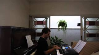 "Marcelo Maciel de Almeida plays ""Willows on the Water"" on the keyboard"