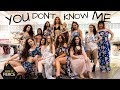 YOU DON'T KNOW ME - JAX JONES FT. RAYE  II MONICA GOLD CHOREOGRAPHY mp3 indir