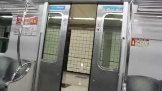 [FHD]大邱都市鉄道2号線2000系 啓明大駅ドア開閉