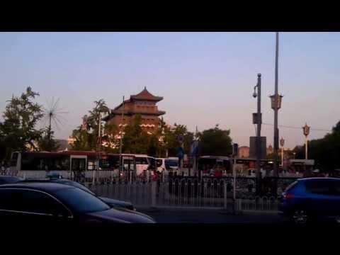 Мавзолей Мао Цзэдуна и двое Zhengyang Gate. Пекин