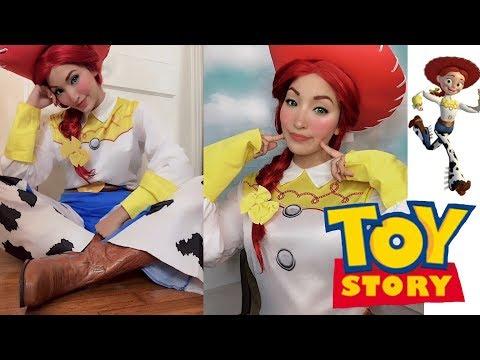 Everyday Disney Series: Jessie Toy Story Makeup