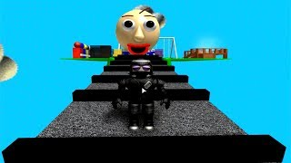 ROBLOX Baldi's Basics Obby! GAMEPLAY
