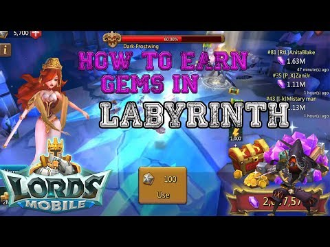 How To Get Gems For Free In Labyrinth Lords Mobile